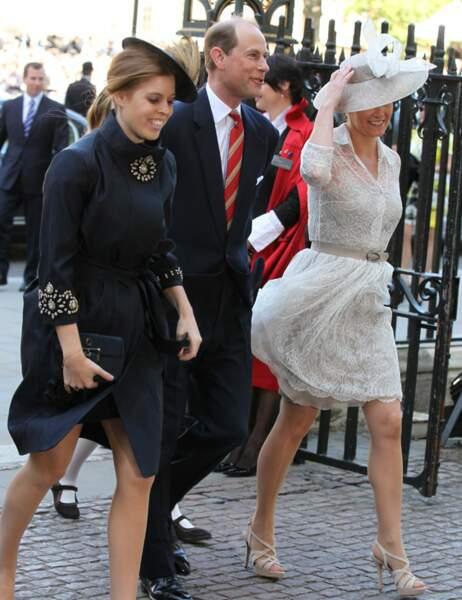 Princese Béatrice et le comte et la comtesse de Wessex