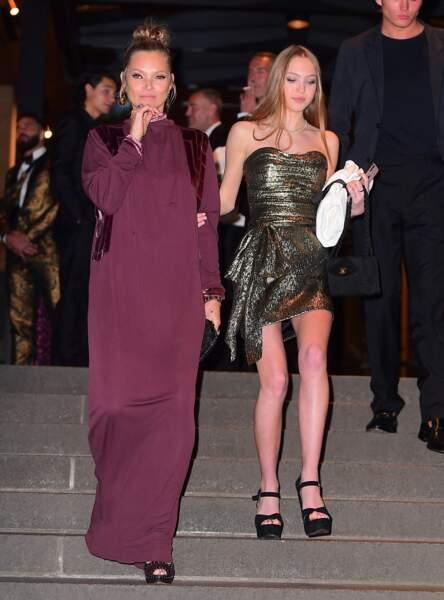 Kate Moss et sa fille au mariage de Marc Jacobs