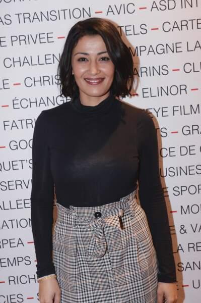 Karima Charni au Pavillon Gabriel à Paris le 8 mars 2019