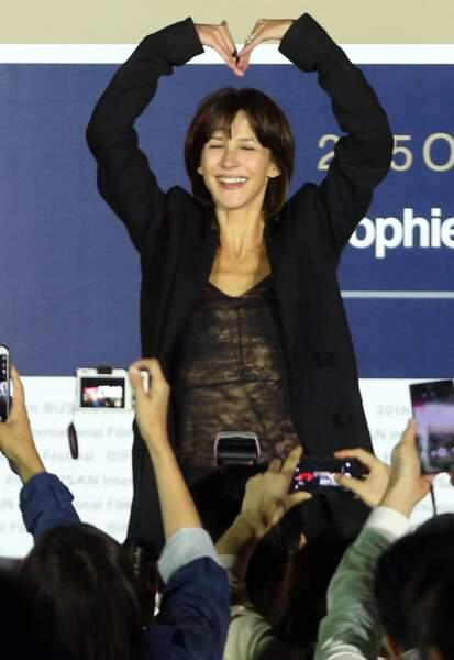 Sophie Marceau : ça boum en Corée du Sud !
