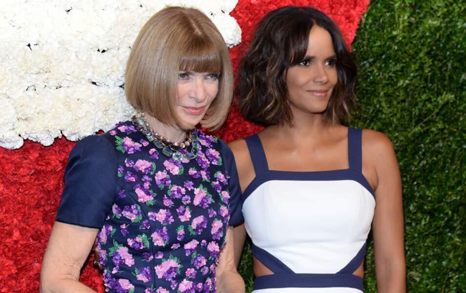 Halle Berry, maîtresse de cérémonie, et Anna Wintour, récompensée durant la soirée