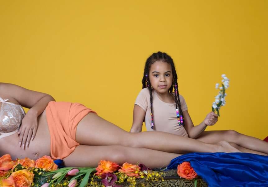 Blue Ivy a déjà quelques fleurs pour accueillir les futurs membres de sa famille