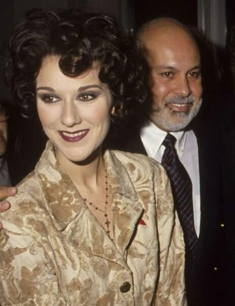 Un an avant leur mariage, Céline Dion et René Angélil sont déjà inséparables