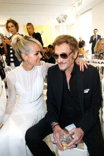 2016 : Johnny et Laeticia Hallyday passionnés de mode... mais aussi l'un de l'autre