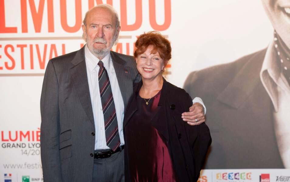 Jean-Pierre Marielle et sa femme
