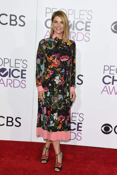People's Choice Awards 2017 : Lori Loughlin en Gucci