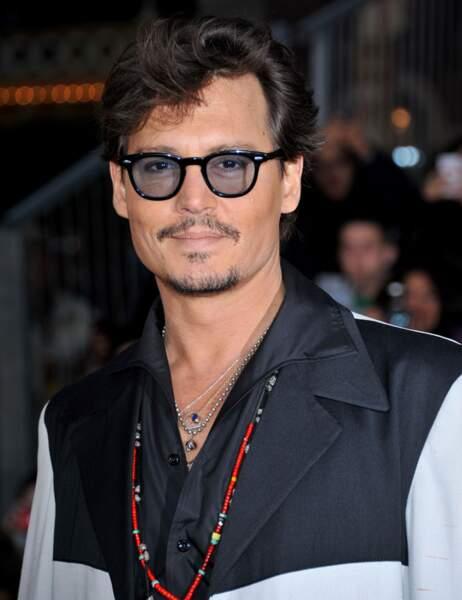 Johnny Depp en mai 2011
