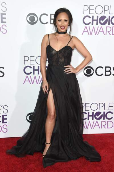 People's Choice Awards 2017 : Cheryl Burke (Dancing with the Stars) en Francesco Paolo Salerno