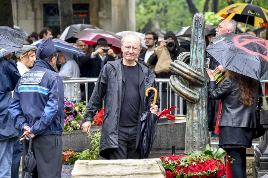 Philippe Geluck et la surprenante tombe de Siné