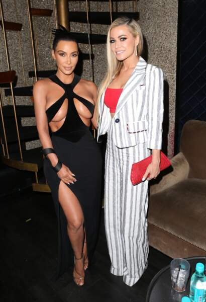 Kim Kardashian et Carmen Electra aux Hollywood Beauty Awards