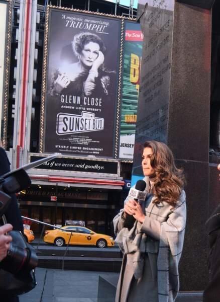 Iris Mittenaere : interview sous le regard de Glenn Close