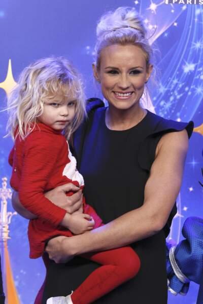 Elodie Gossuin et Joséphine, 3 ans