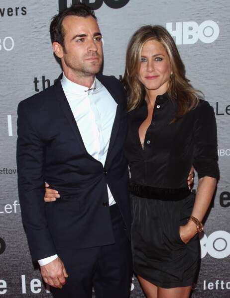 Hier soir à New York, Jen et son homme étaient plus proches et complices que jamais