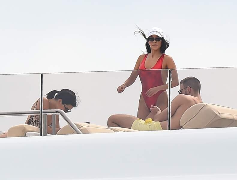 Kourtney Kardashian au réveil