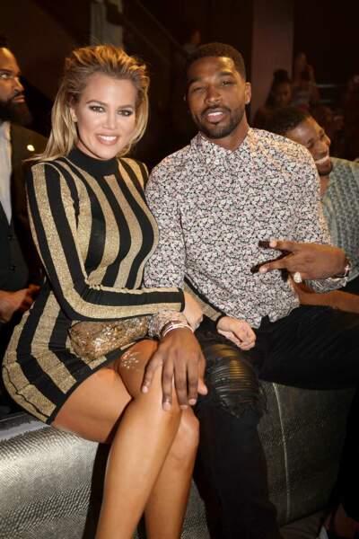 La tenue de Khloé Kardashian est sponsorisée par Ferrero Rocher
