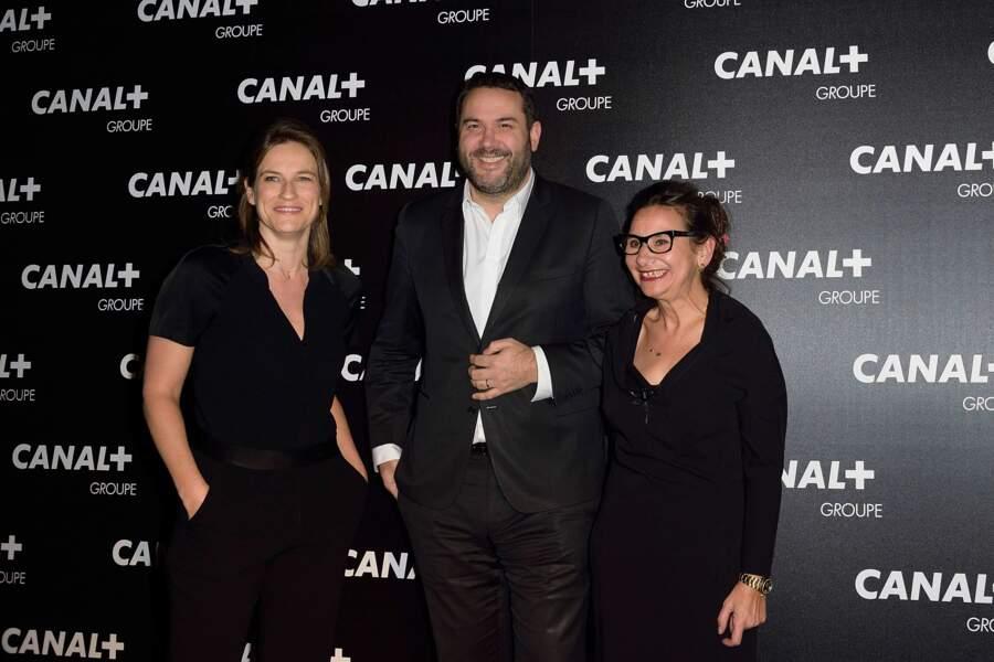 Claire Fournier, Bruce Toussaint et Marie Colmant