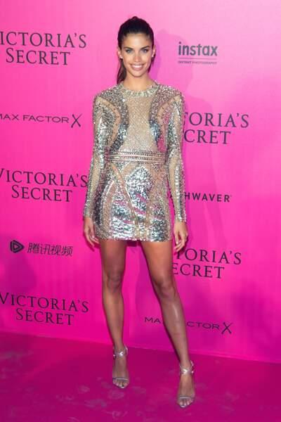 Défilé Victoria's Secret : Sara Sampaio en Atelier Versace