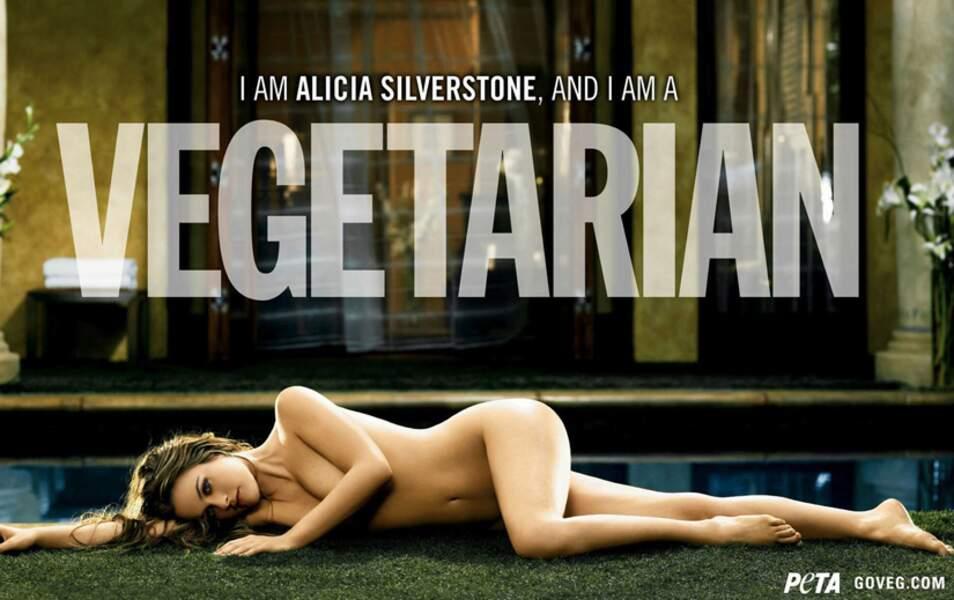 Alicia Silverstone pour la Peta