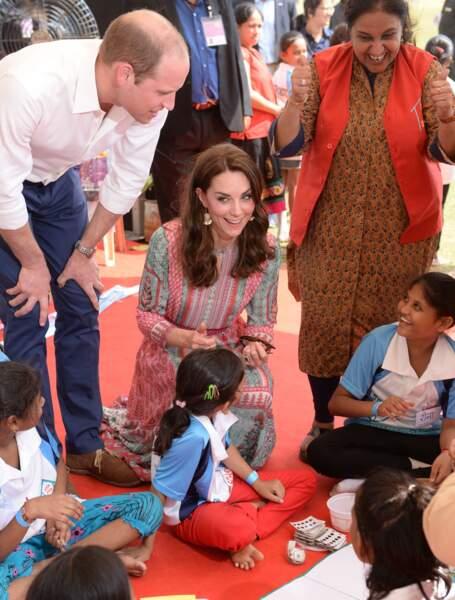 """Et Kate savait quoi leur dire : """"Il était une fois une belle jeune fille appelée Kate et un prince nommé William"""""""