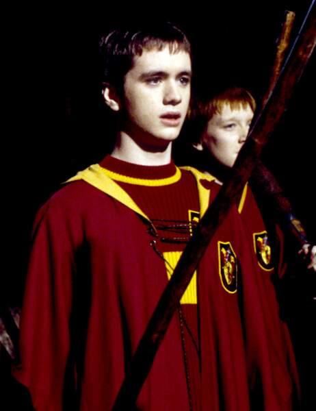 Olivier Dubois, capitaine de l'équipe de Quidditch de Gryffondor...
