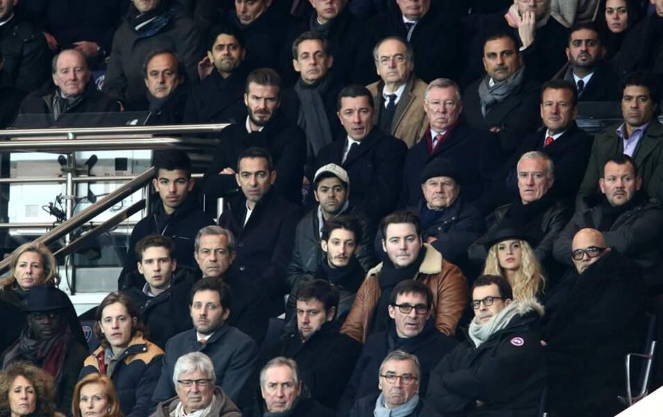 Les people sont venus en force pour assister au match opposant le PSG à Chelsea en Ligue des Champions