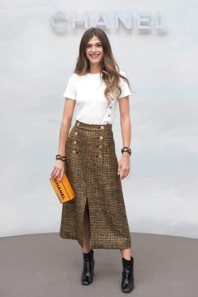 Défilé Chanel : Elisa Sednaoui
