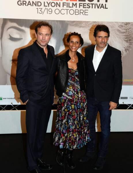 Vincent Pérez, Karine Silla et Pascal Elbé