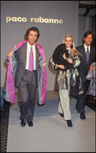 Bernard Montiel dans les années 90