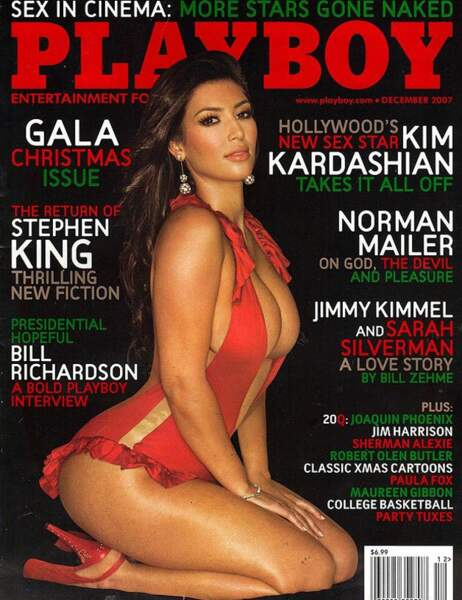 Kim Kardashian en décembre 2007