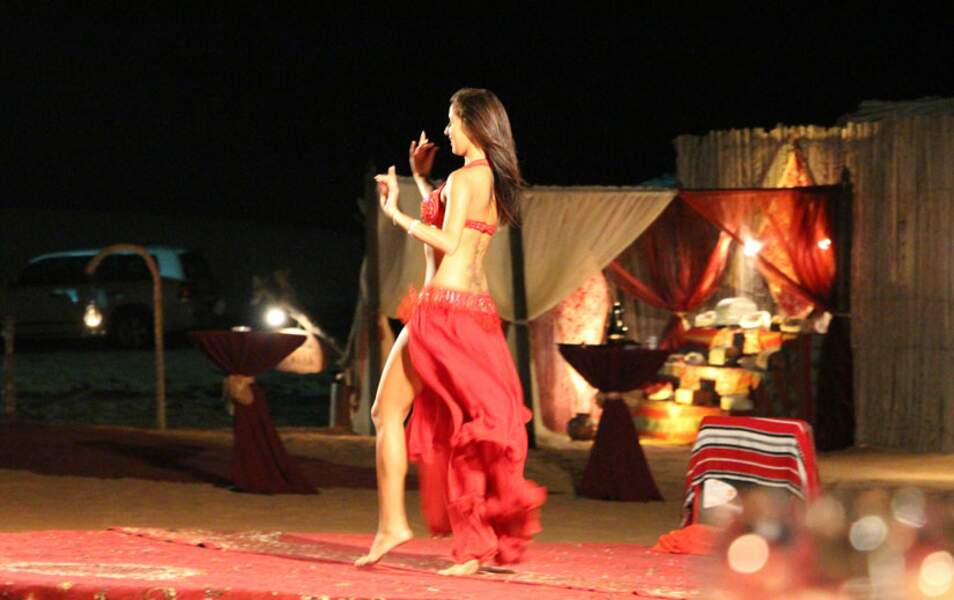 Dîner à la belle étoile et danse orientale