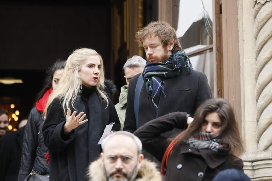 Obsèques de Michel Legrand à Paris : Gaël Giraudeau