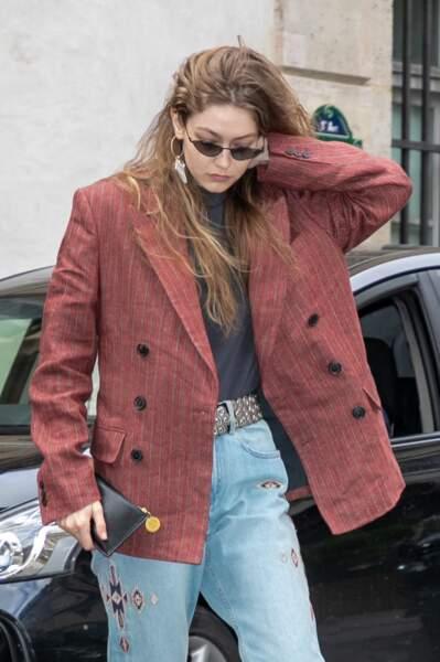Gigi Hadid : nos looks préférés de la it-girl pendant la fashion week