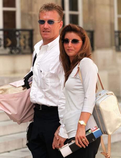 Didier Deschamps et son épouse Claude