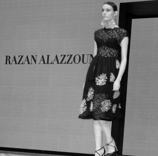 Une des créations de la belle Razan Alazzouni