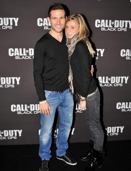 Yohan Cabaye et son épouse Fiona