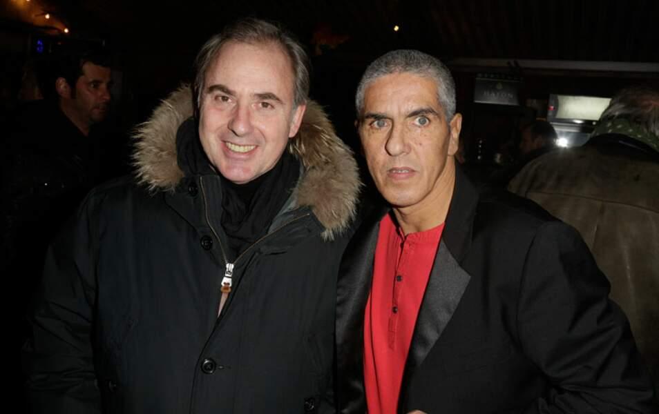 Philippe Risoli et Samy Naceri