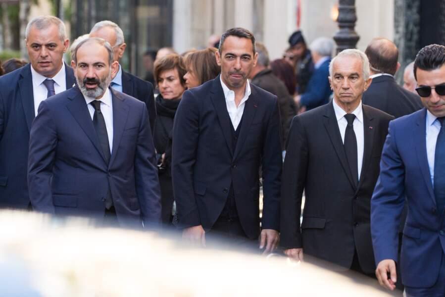 Obsèques de Charles Aznavour à l'église arménienne de Paris