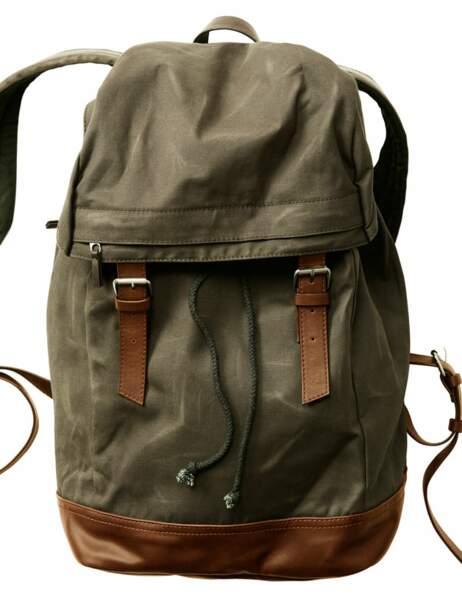 Le sac à dos de chasseur alpin Sac, 49,95€ (H&M)