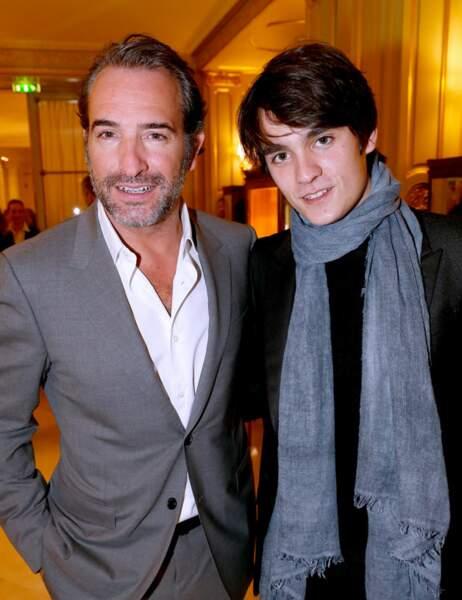 Jean Dujardin et Alain-Fabien Delon