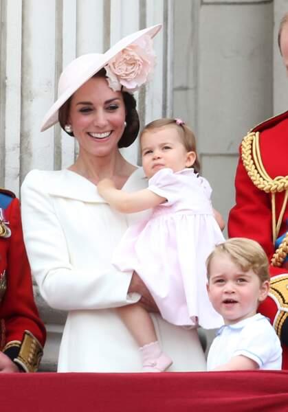 Anniversaire du Prince George - Et les gros avions plaisent toujours autant à George