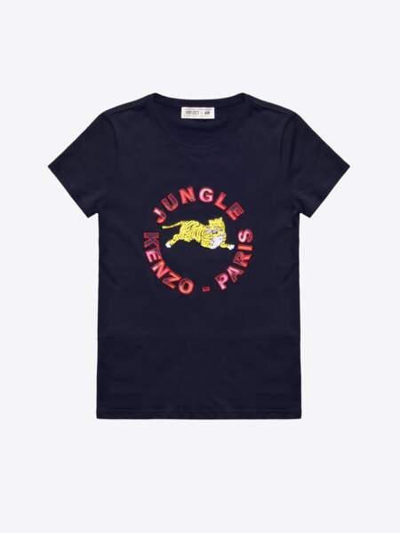 Kenzo x H&M : t-shirt, 29,99€