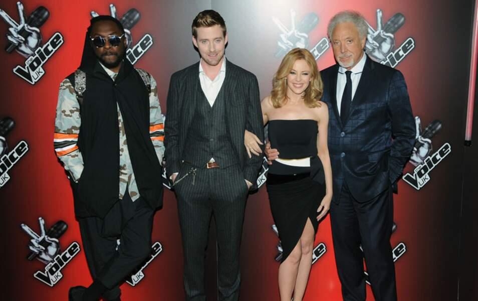 Will.i.am, Ricky Wilson, Kylie Minogue, Tom Jones : la moisson 2014 de The Voice UK