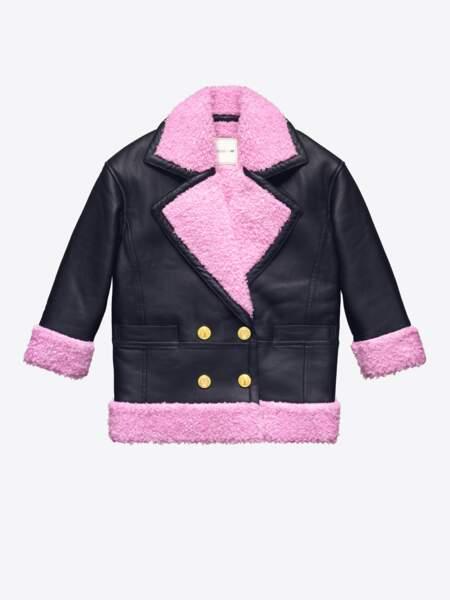 Kenzo x H&M : manteau, 299€