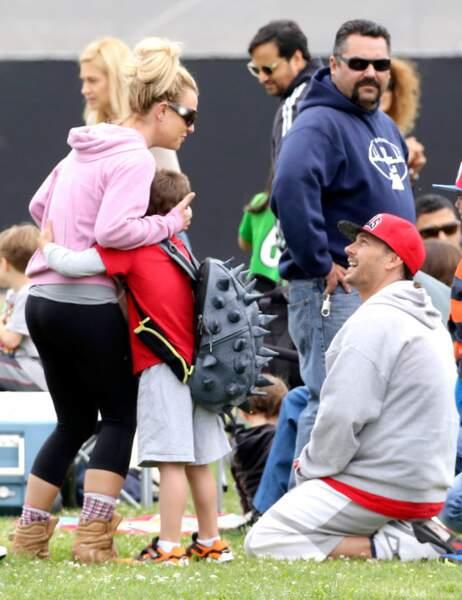 Britney Spears, Kevin Federline et Sean Preston