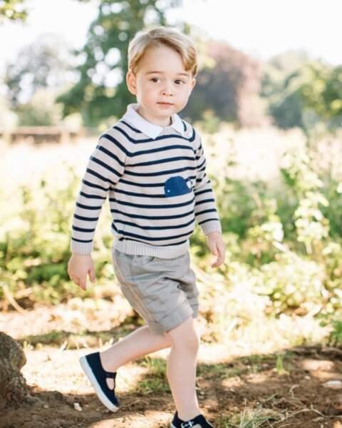 Anniversaire du Prince George - Un grand garçon !
