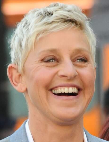 Ellen DeGeneres sur le plateau de son émission