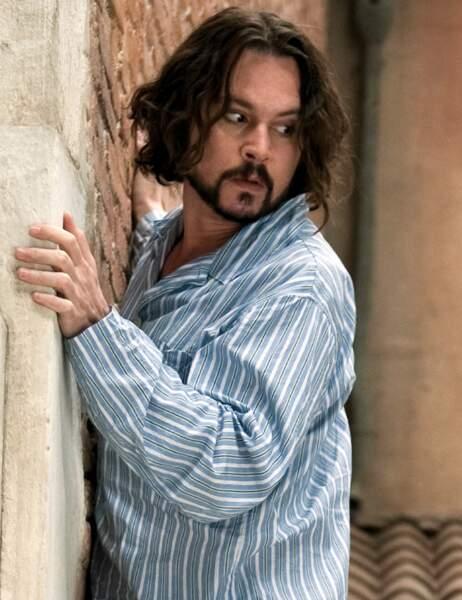 Johnny Depp dans The Tourist
