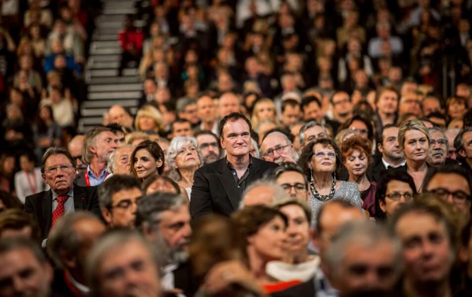 Clotilde Courau, Quentin Tarantino, Claudia Cardinale et Luana Belmondo
