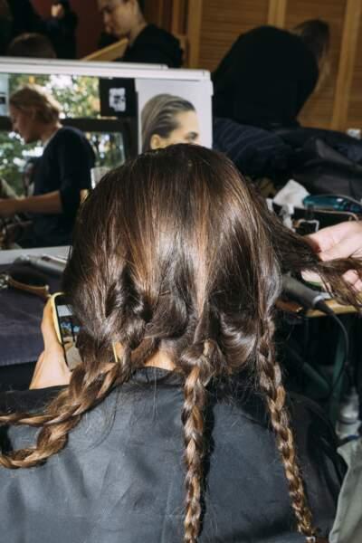 Fashion Week printemps été 2019 : l'effet plaqué chez Léonard
