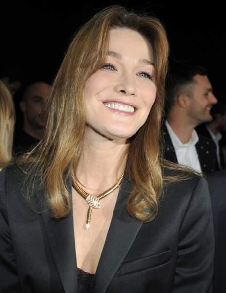 Carla Bruni à 46 ans